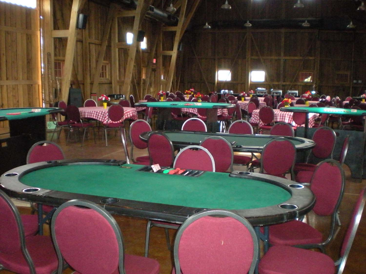 Casino Poker Table